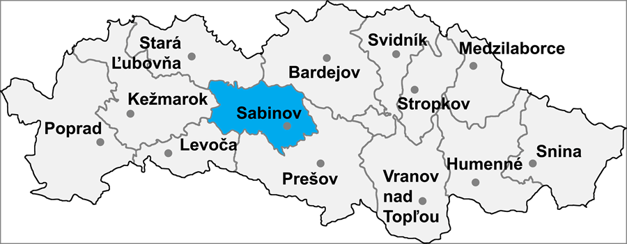 Okres Sabinov