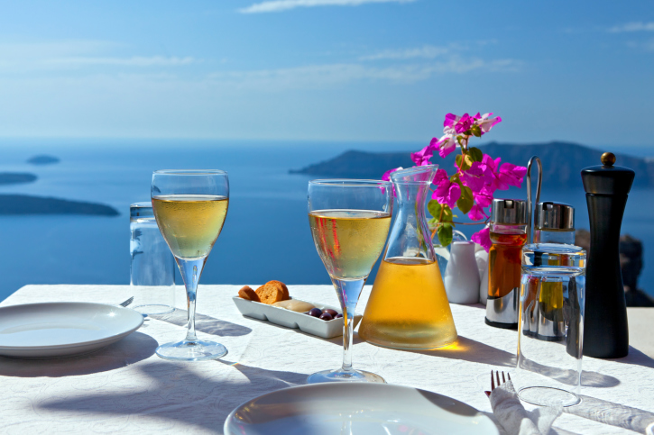 Víno Grécko